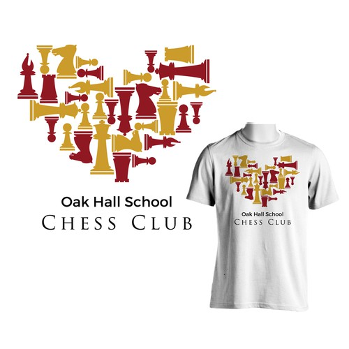 T-shirt for chess club