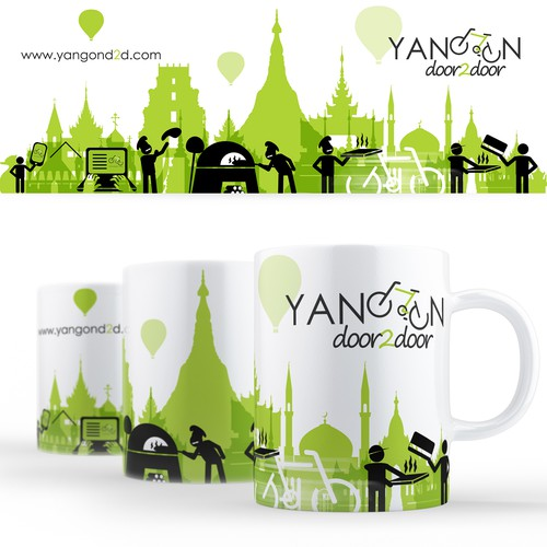 Yangon Door2door Delivery Cup