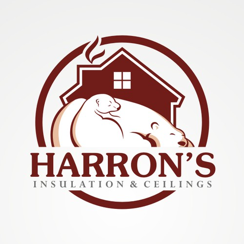 New LOGO needed for Harron's Insulation & Ceilings
