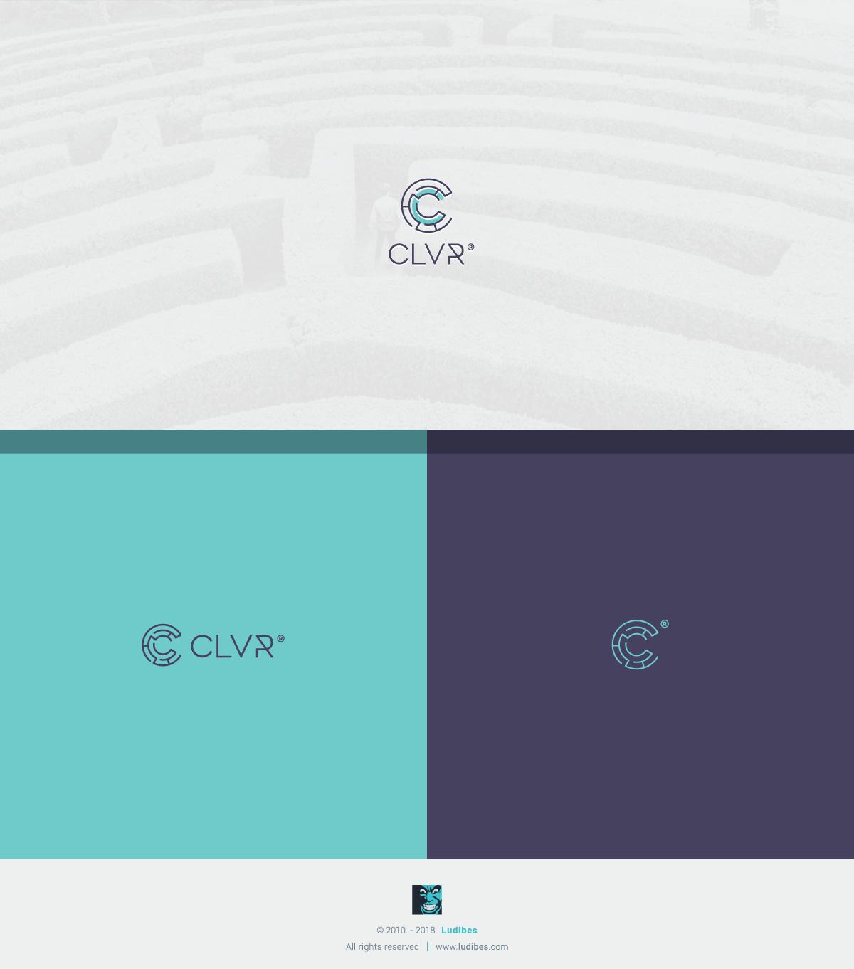 CLVR Logo Design