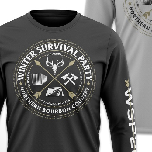 Winter Survival - T-shirt Design