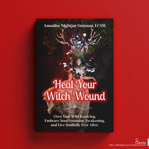 Heal Your Witch Wound - Book Cover Design Contest