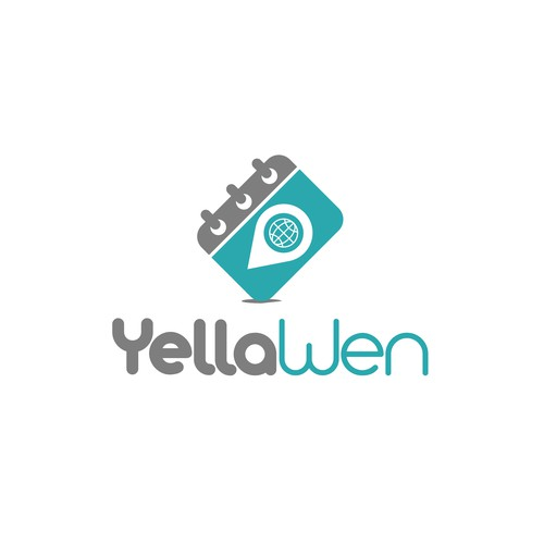 Sophisticated logo concept for Yellaween