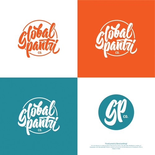 Logo concept for Global Pantry