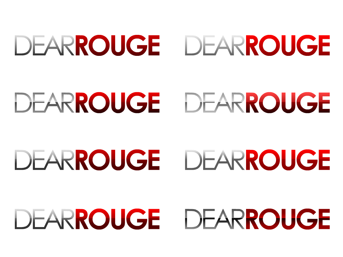 """Design a logo for the launch of the new band """"Dear Rouge"""""""