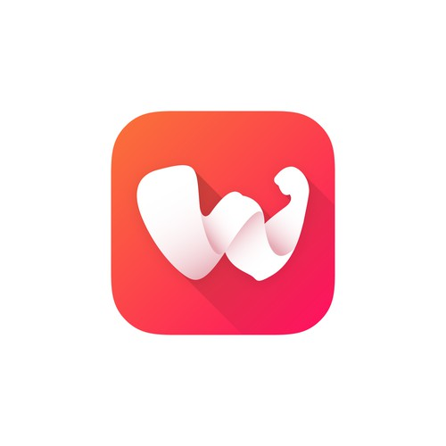App icon design for Workouty