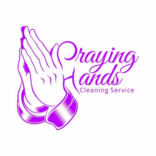 Line Art for Praying Hands