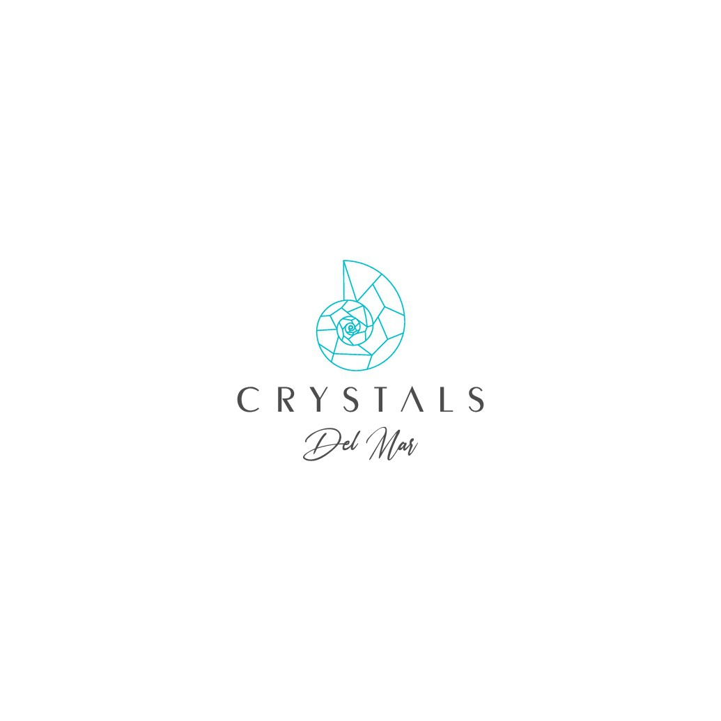 Design a logo for a crystal store