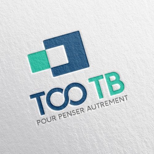 """""TOO TB"" logotype"