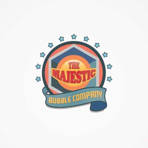 The Majestic Bubble Company logo
