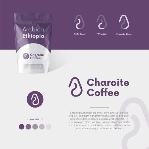 Charoite Coffee Logo Design Insporation