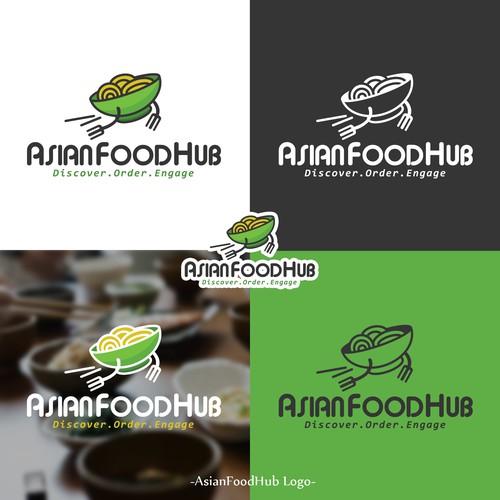 Logo Asian Food Hub