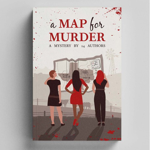 A map for murder