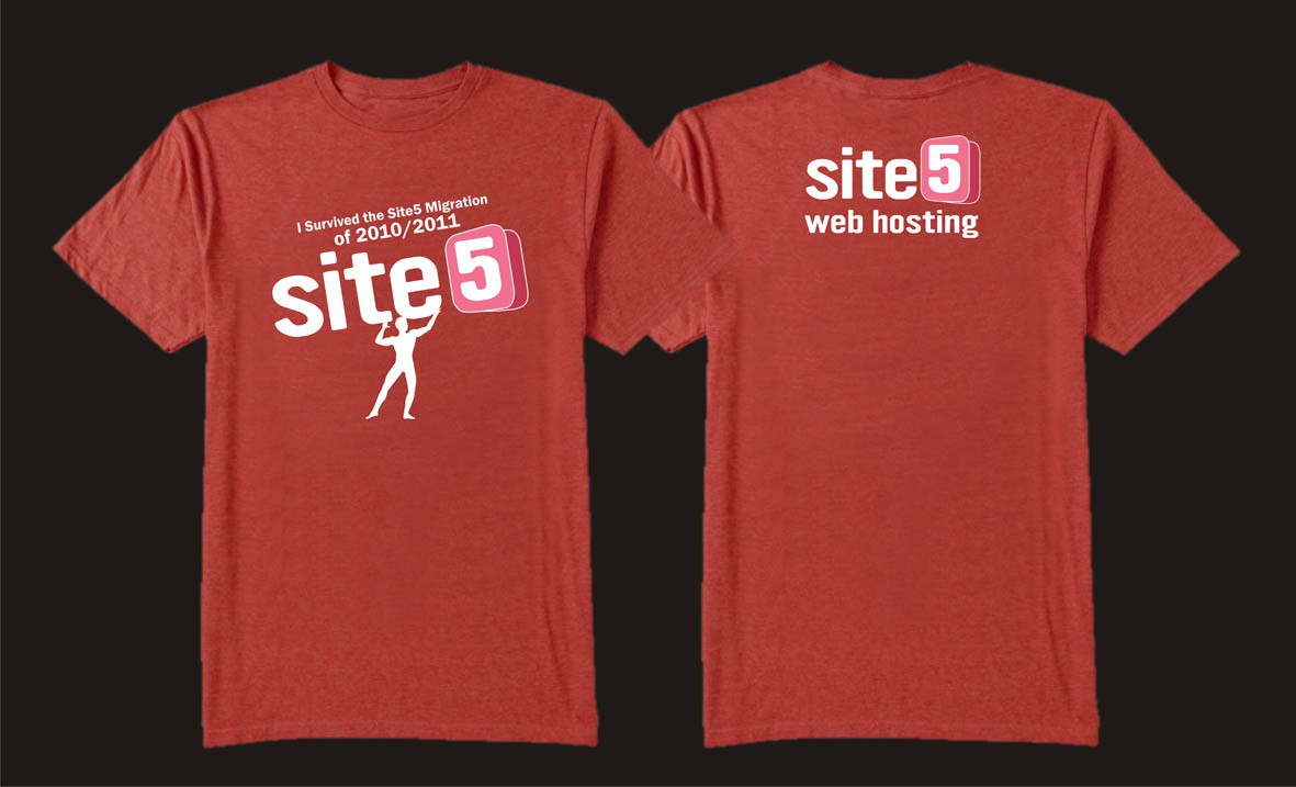 Help Site5 with a new t-shirt design