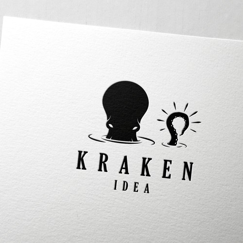 Logo design for the Kraken Idea agency