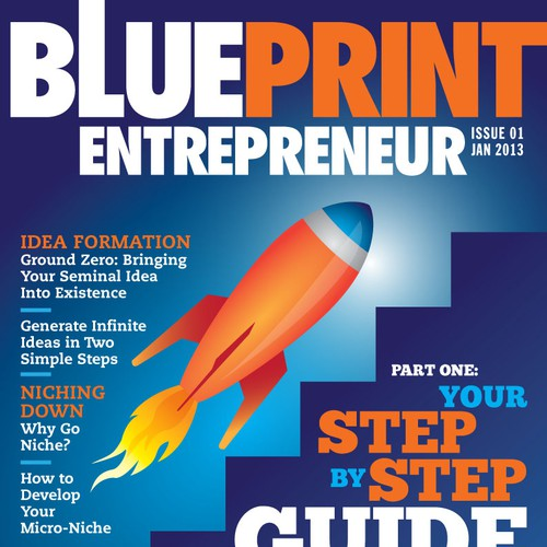 Magazine Cover for BLUEPRINT