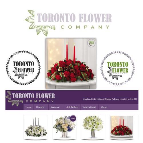 Toronto Flower Company - main site logo