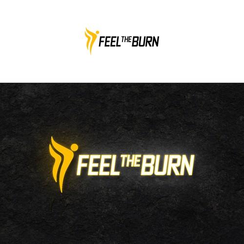 Feel The Burn logo design