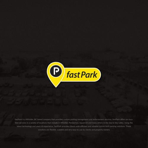 Logo Design for Parking Company 'FastPark'