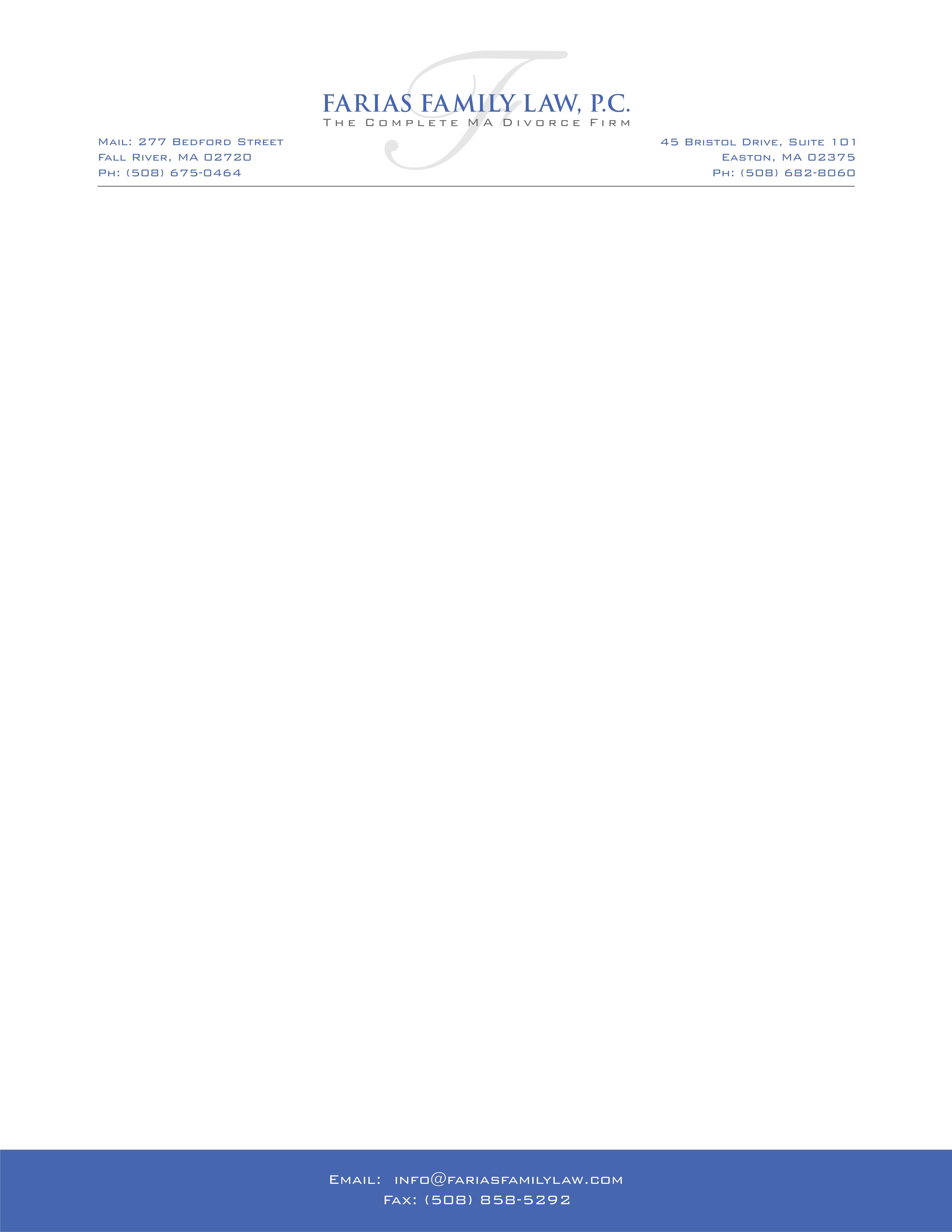 Letterhead/business card change and bigger MB logo