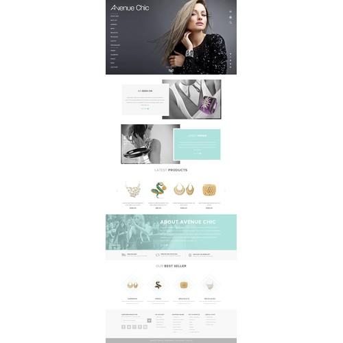 Aveneu Chic Website Designs