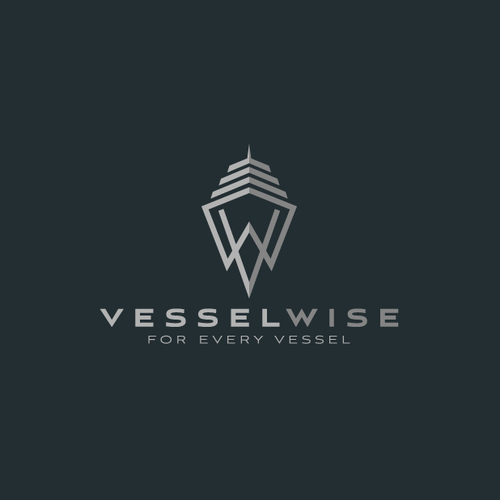 Smart logo for Vessel Technology Company