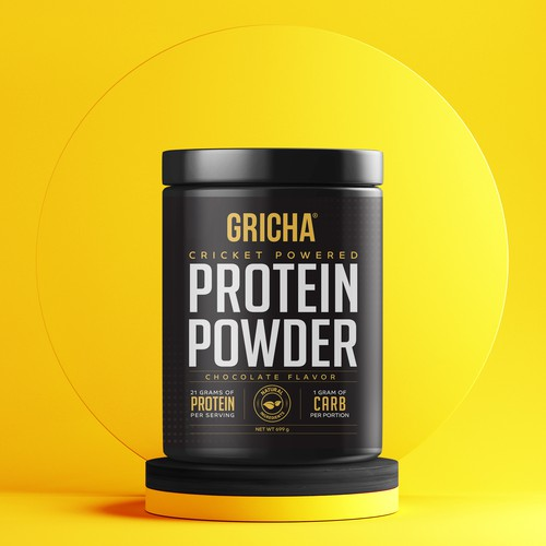 GRICHA Cricket Powered Protein Powder