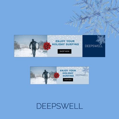 DEEPSWELL , Holiday season banner