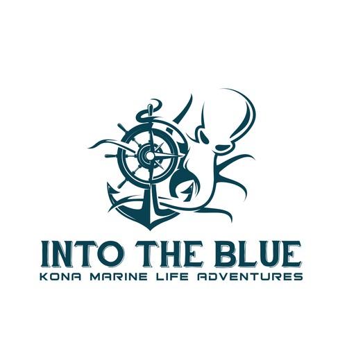 Logo concept for Into the Blue