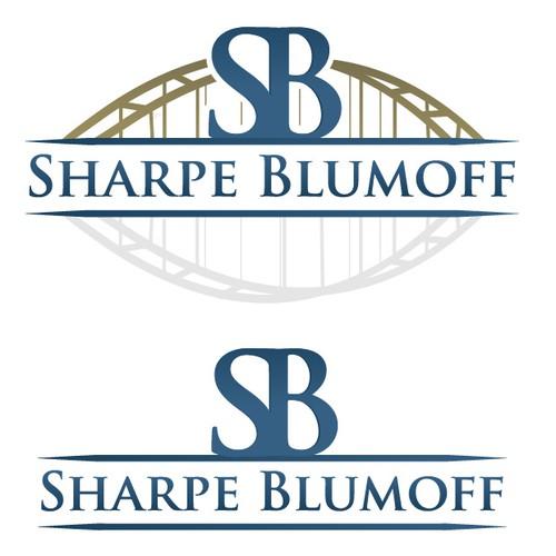 Sharpe Blumoff needs a new logo