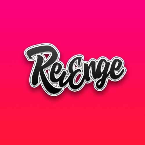 Logo design for mobile app ''Revenge''.