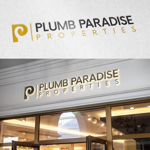 Plumb Paradise Winner Logo