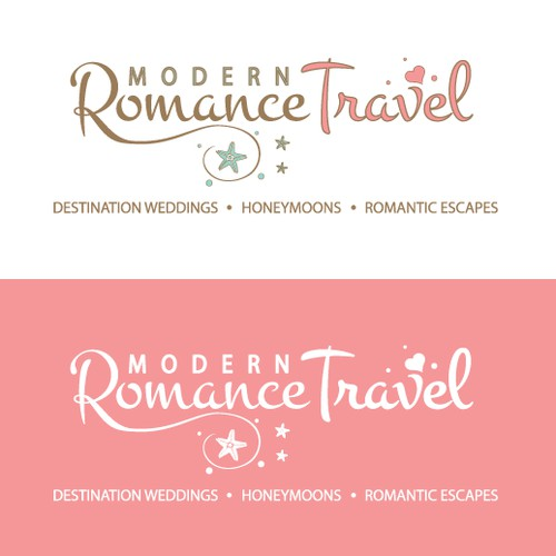 Logo for destination weddings, honeymoons, and family getaways
