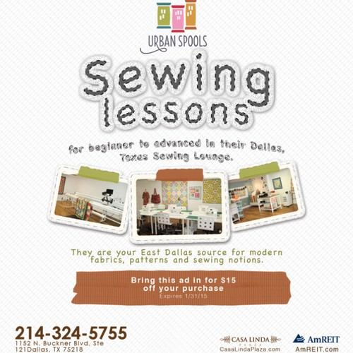 sewing lessong