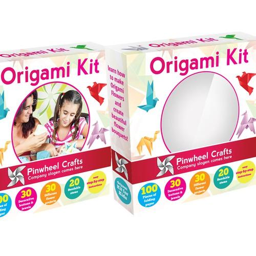 Origami kit box