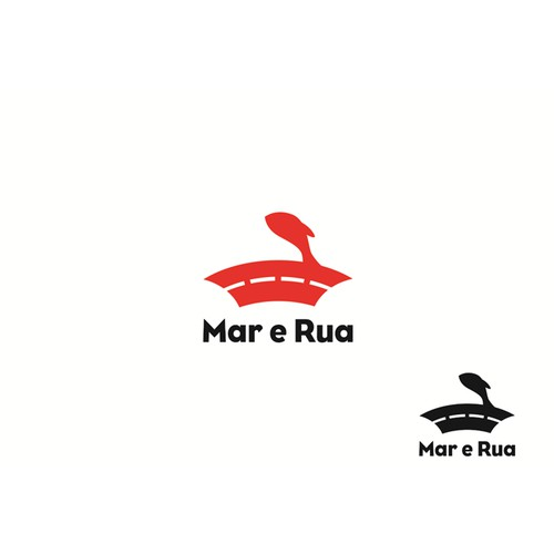 Concept logo for Mar e Rua