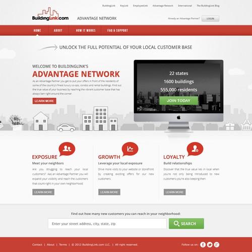 BuildingLink.com LLC. needs a new website design