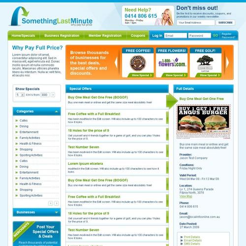 Design for Web Based Business Website