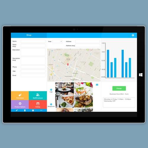 Windows 10 app design