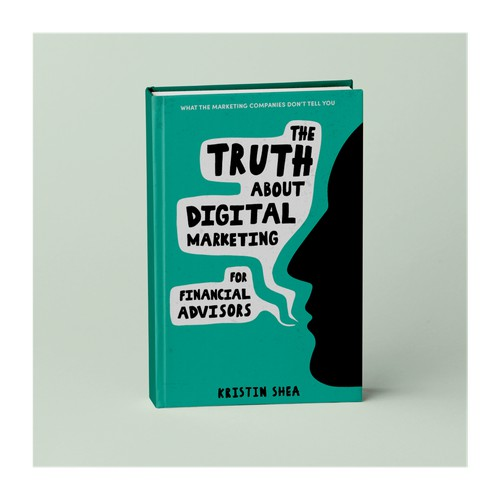 Book cover for a book about digital marketing.