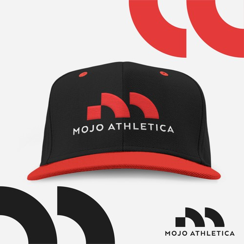 Modern and bold logo for Mojo Athletica
