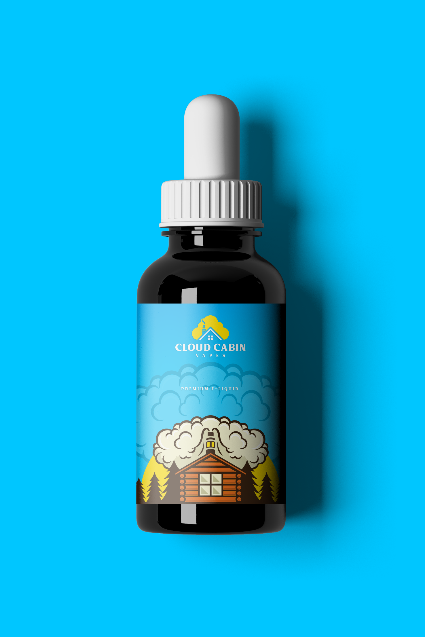 Cloud Cabin Vape needs a company logo, and future logos for our juice lines. Let's work