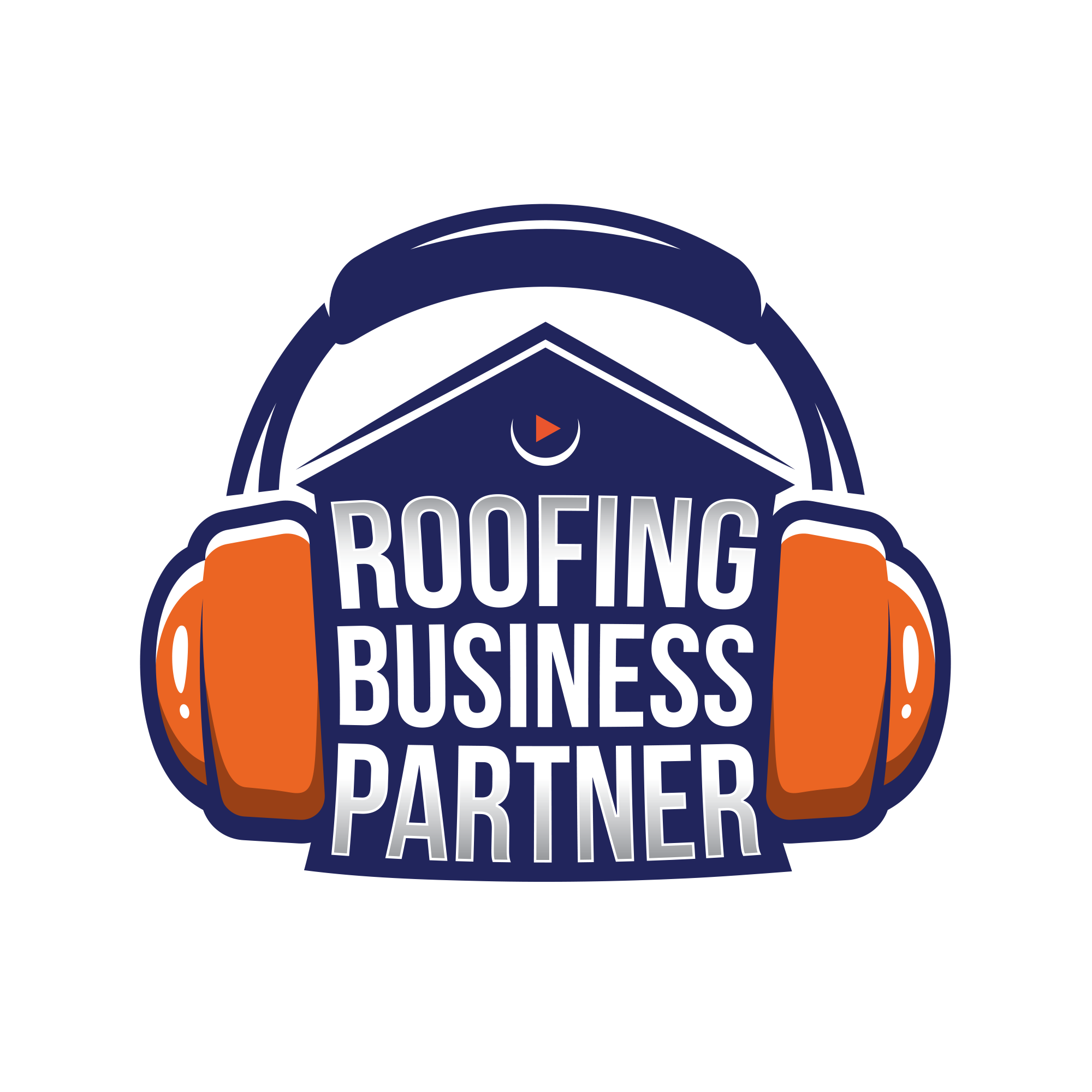 Blind + Guaranteed!! Roofing business podcast needs Logo and more!