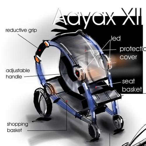 create a baby stroller