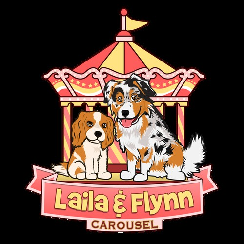 Create the next logo for Laila & Flynn Carousel
