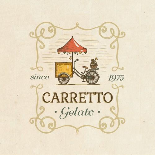 Sicilian & vintage: logo design
