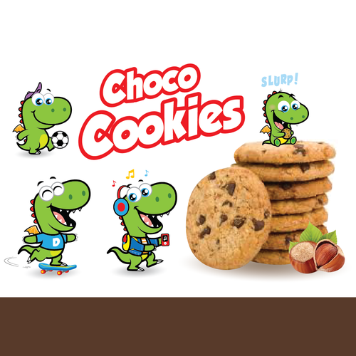 choco cookies mascot