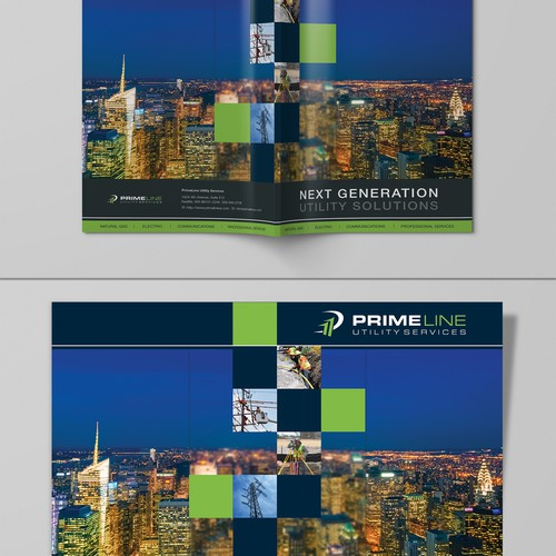 Create an inspiring brochure with captivating photos for PrimeLine