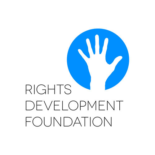 Logo for a human rights foundation