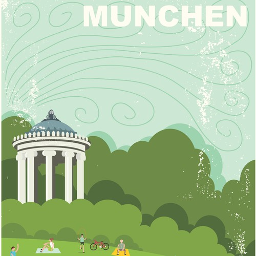 99d Community Contest Create a poster for the beautiful city of Munich